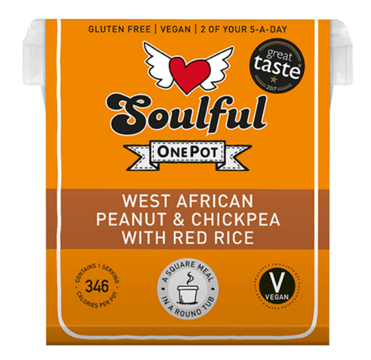 Soulful Foods Onepot West African Peanut 380g