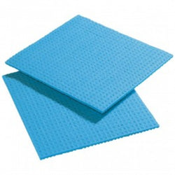 Sponge Dish Cloth Blue x 10