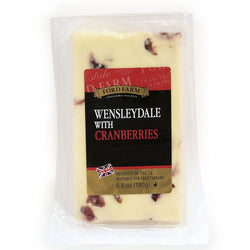 Wensleydale Cheese with Cranberries 190g