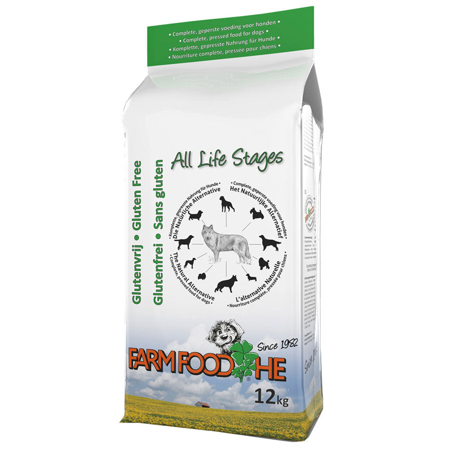 Pure Cold Pressed Gluten Free Dog Food