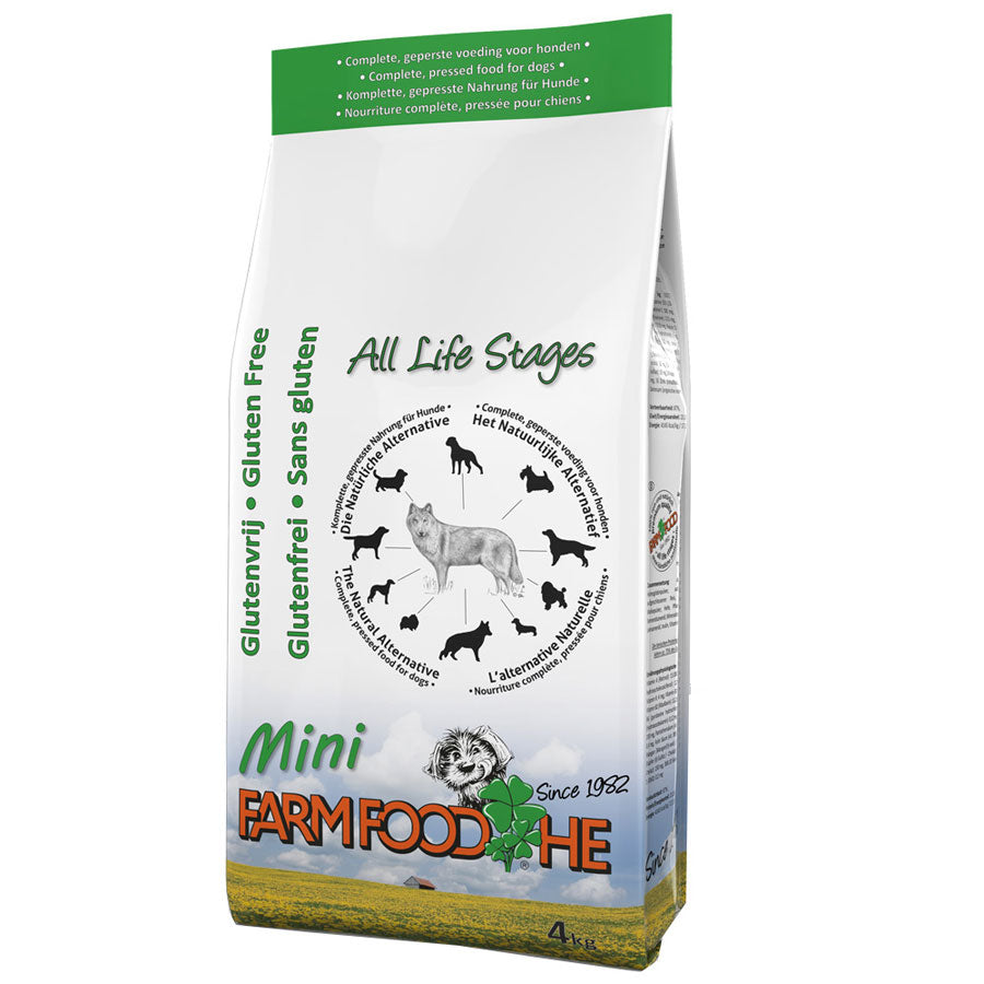 Pure Cold Pressed Gluten Free Dog Food - Small Bite