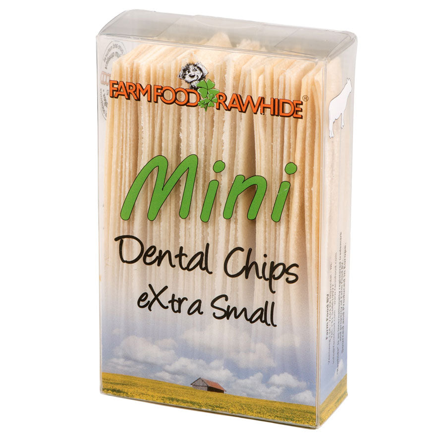 Farm Food Rawhide Dental Chips X-Small (Mini)