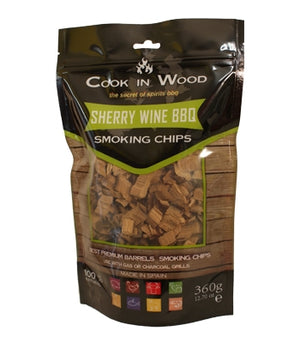 Cook in Wood Sherry Smoking Wood Chips 360g