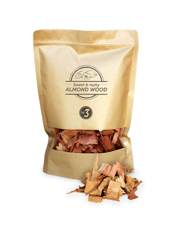Smokey Olive Wood -Almond Wood Chips Nº3