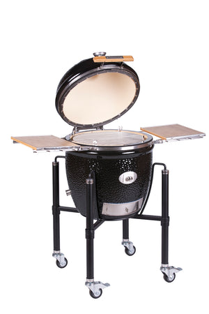 Monolith Classic Pro Series 2.0 Kamado Grill With Stand and side Shelves PRE ORDER FOR JUNE SHIPMENT