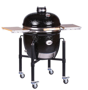 Monolith Le Chef PRO Series 2.0 Kamado Ceramic Grill with Cart BBQ Guru Edition PRE ORDER FOR FEB SHIPMENT
