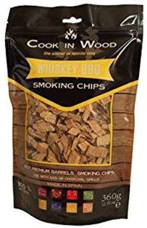 Cook in Wood Muscat Smoking Wood Chips 360g