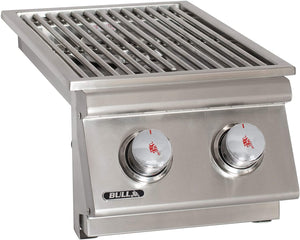 BULL Slide In Double Side Burner With Gas Options