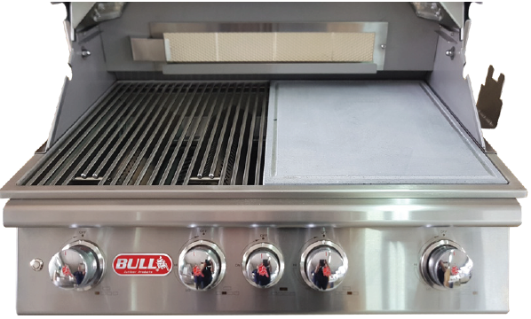 BULL Volcanic Rock Griddle/Pizza Stone Grill Enhancement 97030