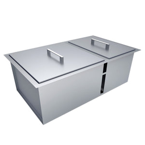 Sunstone® Built in Outdoor Double Sink
