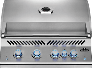 "Napoleon BIG 32"" Built in 700 series 4 Burner Propane Gas BBQ Grill Head BIG32RBP- FREE COVER"