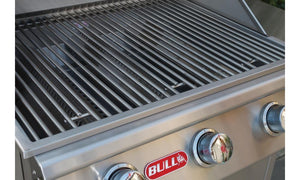 BULL STEER 3 Burner Built in Propane Gas BBQ Grill Head