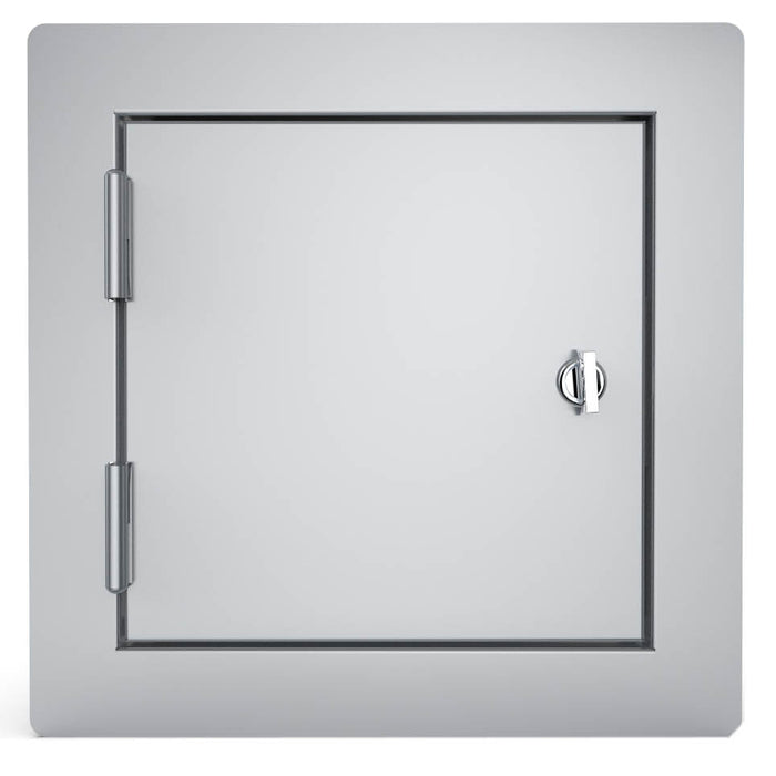 Sunstone Built in Plain Single Utility Door