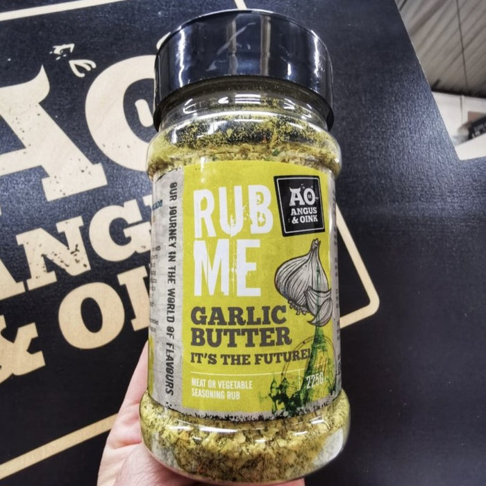 Angus and Oink Garlic Butter Seasoning Rub 200g Shaker