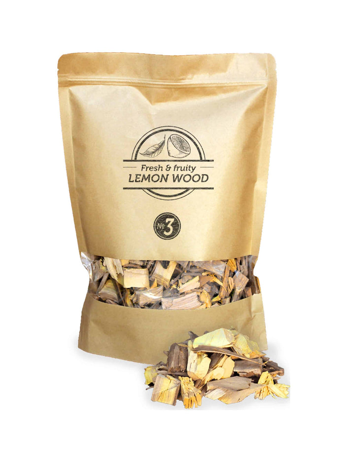 Smokey Olive Wood - Lemon Wood Chips Nº3
