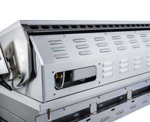 Sunstone® 3 Burner Built in RUBY Gas BBQ Grill Head