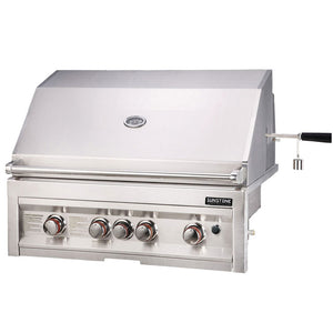 Sunstone Sun Series 4 Burner Built In Gas Grill with Infrared