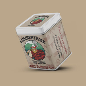 Lumberjaxe Food Company Sweet BBQ Rub 80g