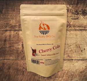 Rusty BBQ Company Cherry Cola Sweet Wing and Rib Dust 200G
