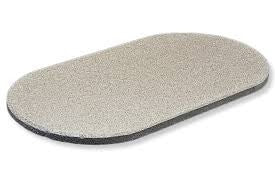 FREDSTONE Oval BBQ Pizza/ Baking Stone Select Size