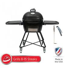 Primo Oval JR200 Ceramic Kamado BBQ Grill All In One