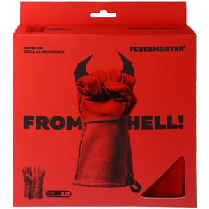 Feuermeister Leather Premium BBQ Gauntlets - Size options