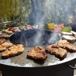 Buschbeck Plancha Cooking Ring For Fire Pits - Size Options