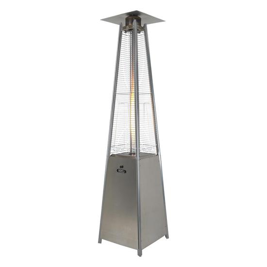 Athena Plus 13kw Real Flame Commercial Patio Heater + FREE Weather Cover