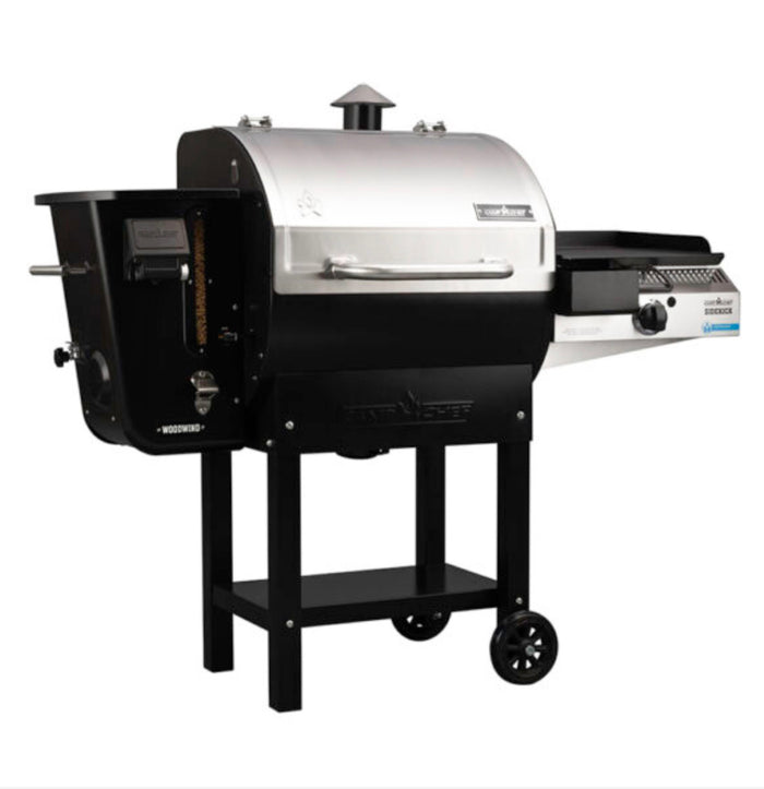 Camp Chef Woodwind 24 Wood Pellet Smoker With Sidekick