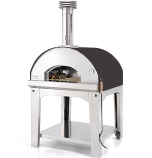 Fontana Marinara Wood Pizza Oven Complete With Trolley - ANTHRACITE