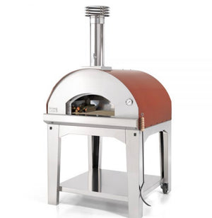 Fontana Marinara Wood Pizza Oven Complete With Trolley - ROSSO