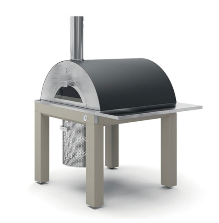 Fontana Bellagio Wood Pizza Oven with Trolley