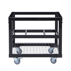 Primo Metal Ceramic BBQ Cart with side shelve options