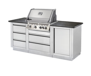 NAPOLEON PRESTIGE PRO500 BUILT IN NATURAL GAS BBQ GRILL HEAD