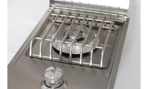 BULL Drop In Single Side Burner - Gas options