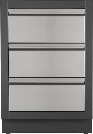 Napoleon Oasis Modular Three Drawer Kitchen Cabinet IM-3DC