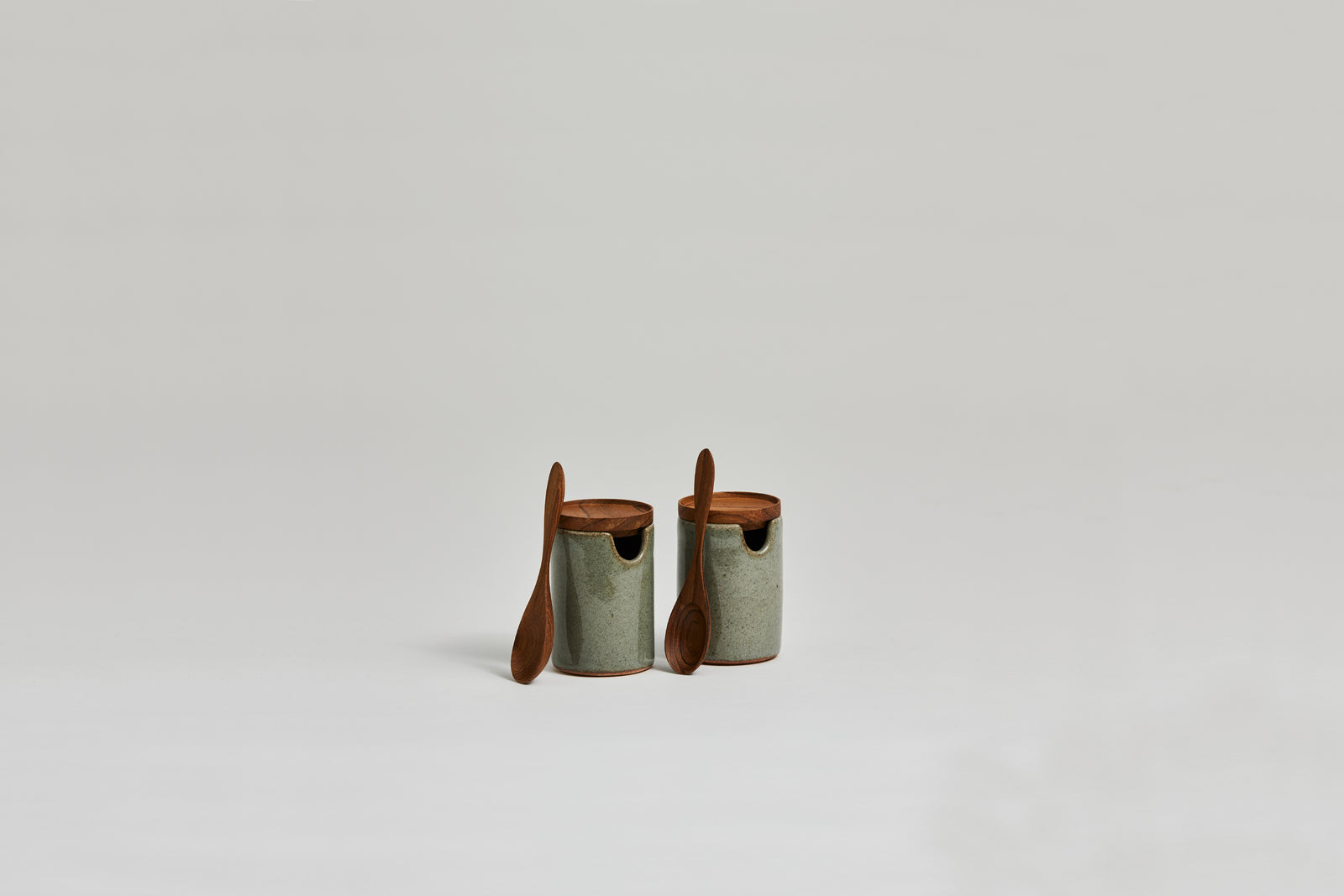 Salim Salt & Pepper Set Dove Green