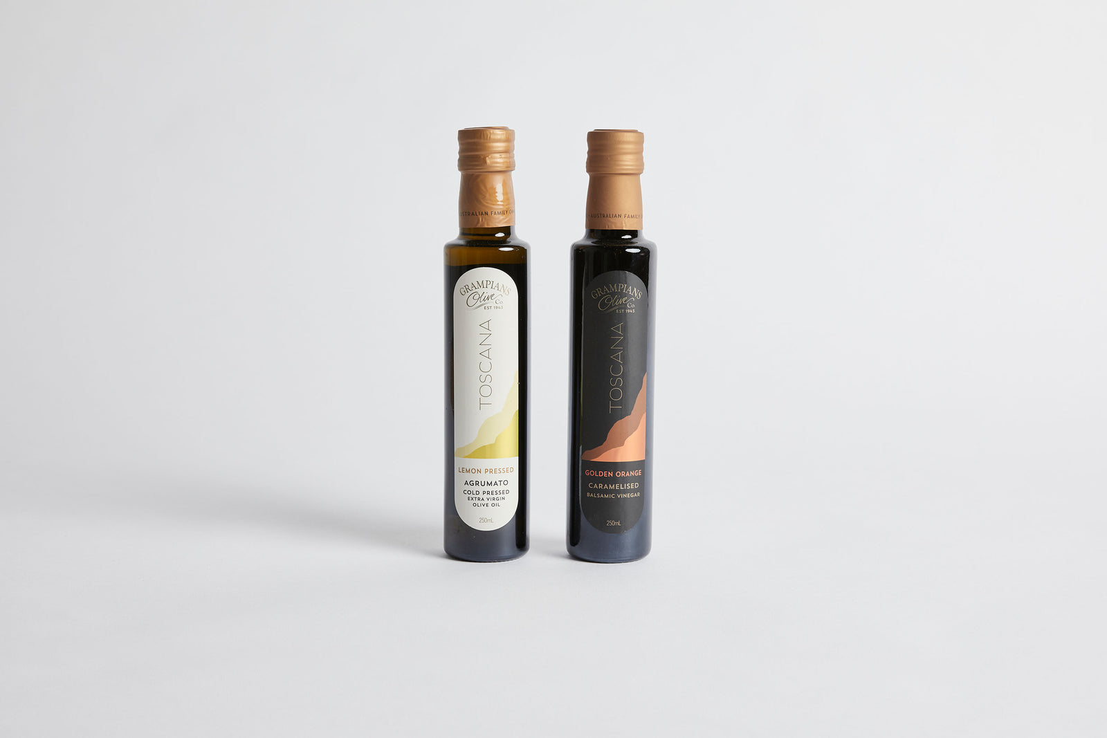 Organic Olive Oil & Balsamic Vinegar Set