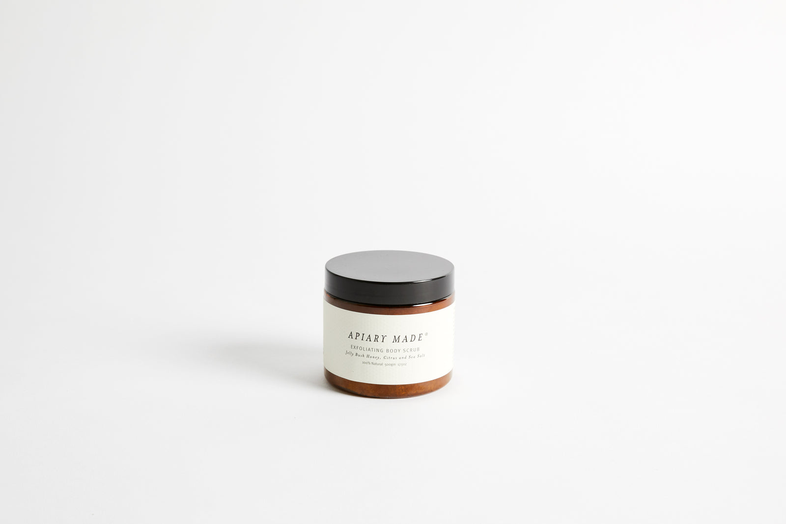 Honey Citrus Sea Salt Scrub