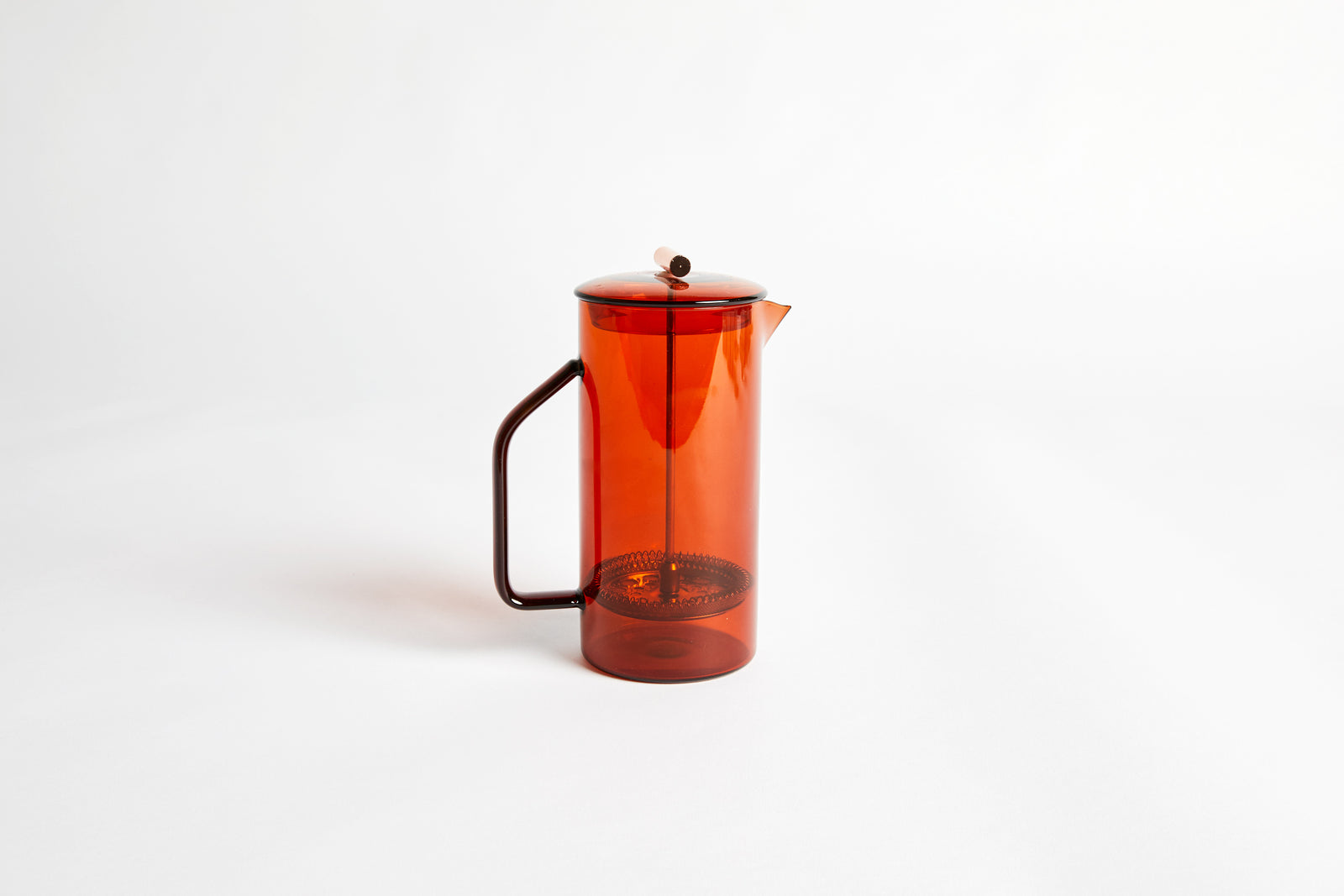 Glass French Press 850ml Amber