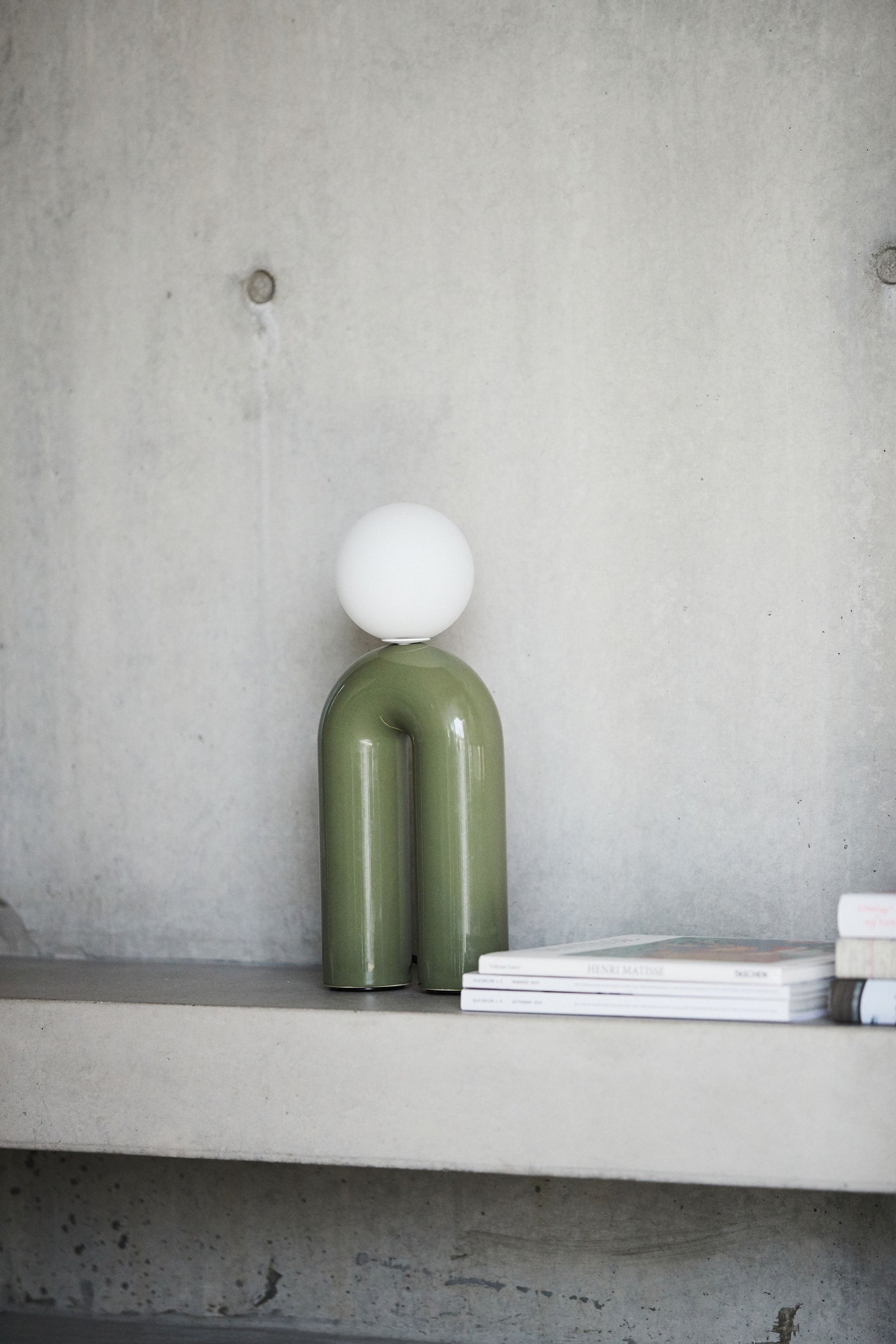 Nelly Table Light Olive
