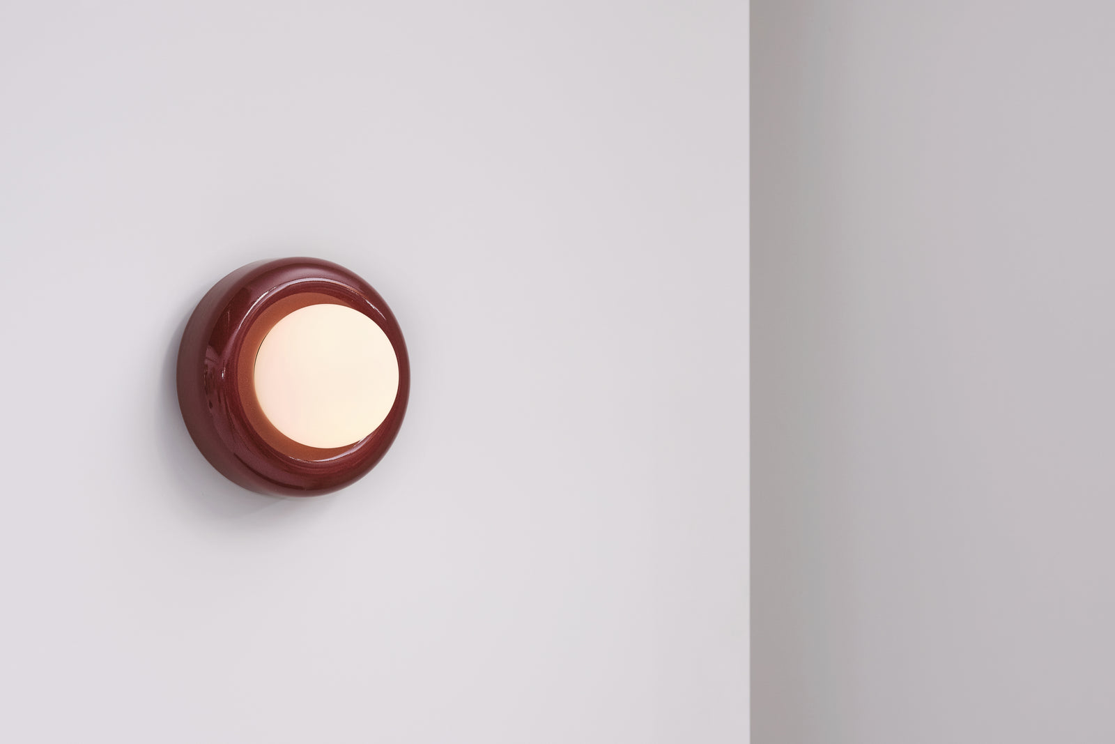 Nelly Wall Light  Rust