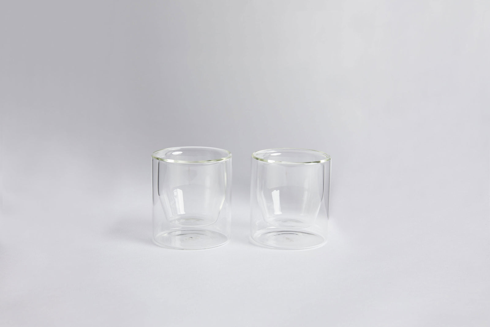 Double-wall Glass Set Clear