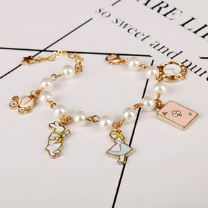 'Alice In Wonderland' Bracelet Collection - WaterRabbit.Co
