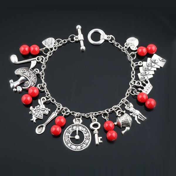 'Alice In Wonderland' Bracelet Collection 3 - WaterRabbit.Co