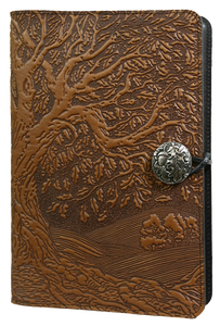 Tree of Life-Leather Refillable Journal