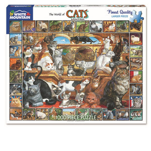 The World of Cats-1000 Piece Puzzle