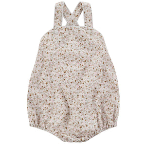 little cotton clothes   Billie Romper-Cinder Floral