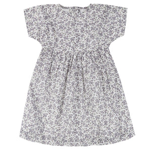 little cotton clothes   Jessica Dress-Daisy Floral Blue