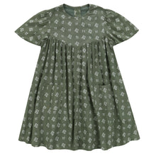 画像をギャラリービューアに読み込む, little cotton clothes   Mary Dress-Sedum Green Floral
